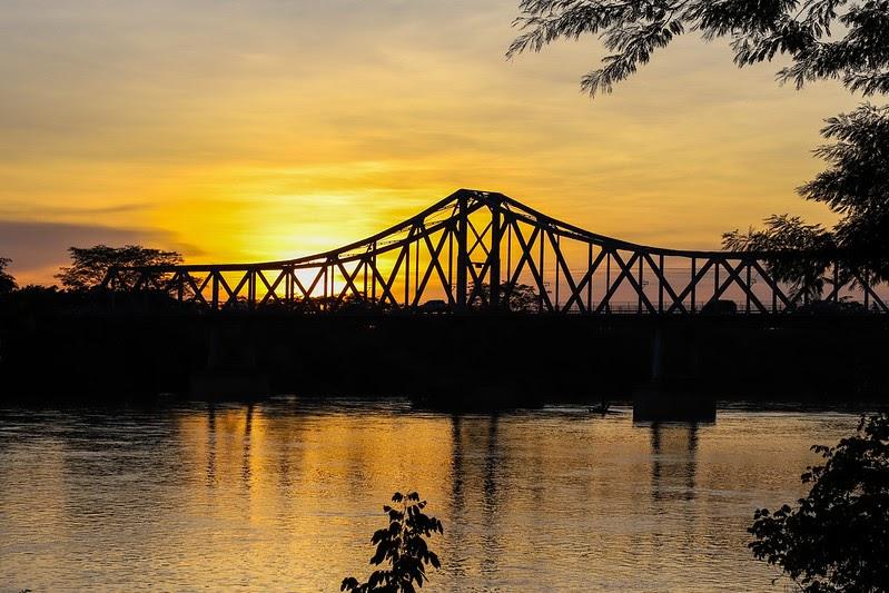 Ponte Metálica é opção para assistir ao pôr do sol em Teresina