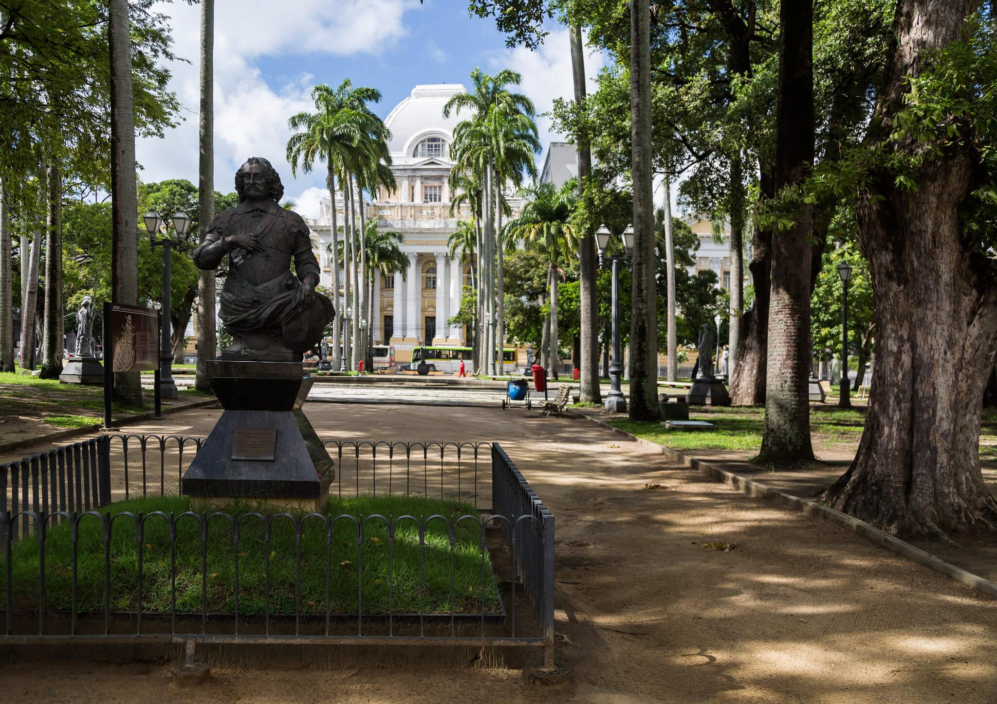 Praça da República em Recife
